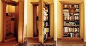 habitaciones, armarios, estanterias secretas
